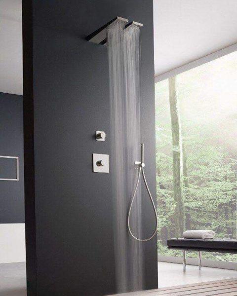 Tendencias y tipos de regaderas  #baño #regadera #bath #decoración #decor #tuconstru #Arquitectura