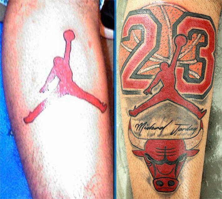 23 jordan chicago bulls tattoos i like pinterest. Black Bedroom Furniture Sets. Home Design Ideas