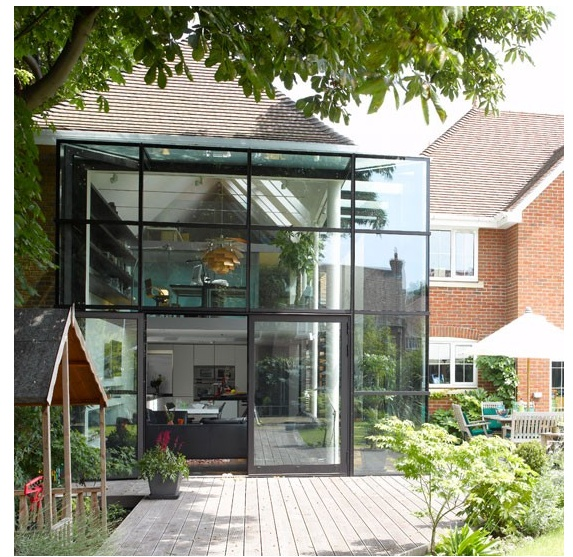 Love this glass extension