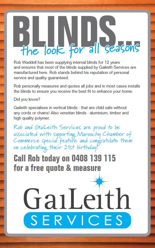 At Gaileith Services, we pride ourselves on our 'hands on' approach to service.     Did yo know that we can supply made to measure blinds for you to fit? If you are looking for made to measure blinds to fitted for you, we take care of that also.    Remember that free advice is always available on measuring your windows and doors.    Rob personally measures and quotes all jobs and in most cases installs the blinds to ensure you receive the best fit to enhance your home.
