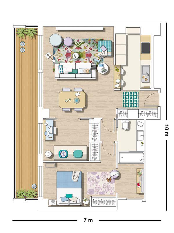 Oltre 25 fantastiche idee su progetti per case piccole su for Case layout planimetrie