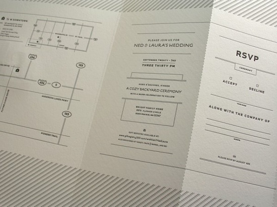 perforated RSVP
