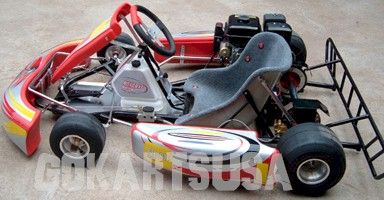 Road Rat Racer TAG Adult Race Go Kart, Electric Start