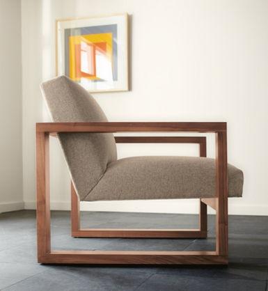 room & board, zane chair.. walnut