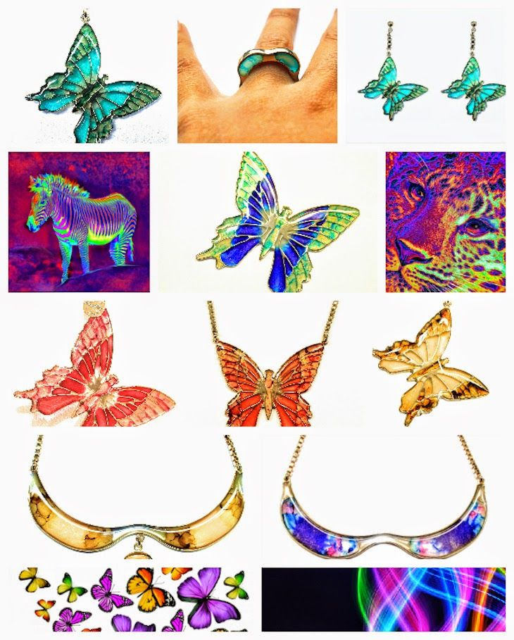 #bijoux by @Italian Project Style Dream #ITALIANPROJECT STYLE italian brand #fluo #neon #fluorescent on night #neckalce #cuffs #earrings #bracelets #rings #jewels #bijoux #butterfly #green #neon #colors #colorful #golden #silver #romantic #butterfly #insect #sea #poentry #accessories