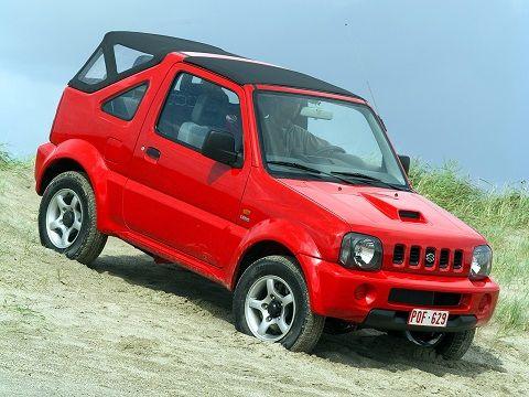 Suzuki Jimny Cabrio (1999 – 2006).
