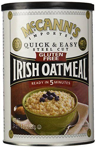 McCanns Gluten Free Quick and Easy Steel Cut Oats Canister 24 Ounce *** Check out the image by visiting the link.