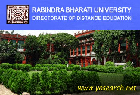 Looking for Rabindra Bharati University Distance Education MA Admission 2017? Visit Yosearch for MA Distance Education 2017 eligibility, application, dates