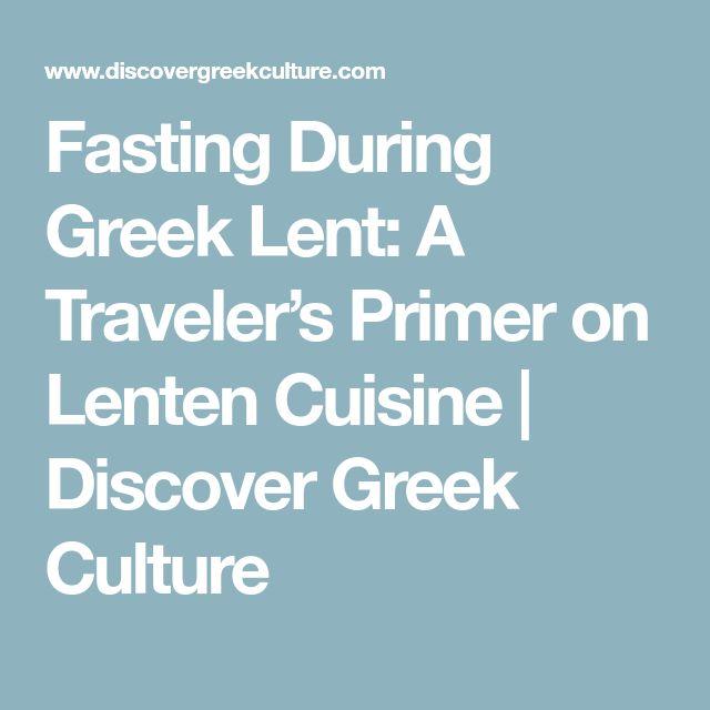 Fasting During Greek Lent: A Traveler's Primer on Lenten Cuisine   Discover Greek Culture