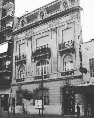 Residencia Familia Pereyra Iraola (Callao 1660) - Arq. Desiré Guilbert y Eugene Gantner (demolida)