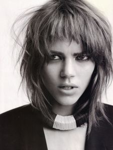 Freja Beha Erichsen is a Danish model known for her androgynous boyish looks. She has a young and incredibly versatile look which makes her unique.