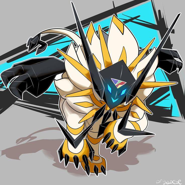 Solgaleo mit Necrozma vermischt sind wir hier bei Digimon? #MavisChan