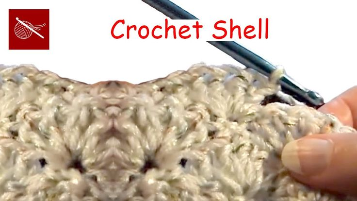 How to make a Crochet Shell Scarf