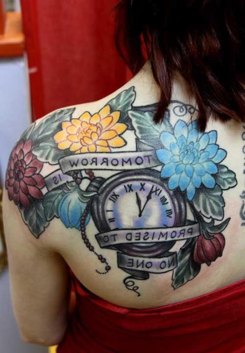 20 Fotos de Clock + El significado de los tatuajes - http://tatuajeclub.com/2016/08/01/20-fotos-de-clock-el-significado-de-los-tatuajes.html