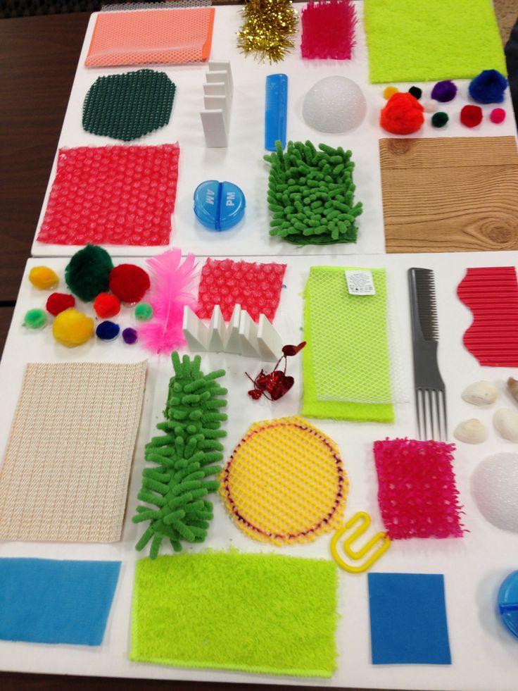 Texturas - Ideas - Nivel Inicial                                                                                                                                                                                 Más
