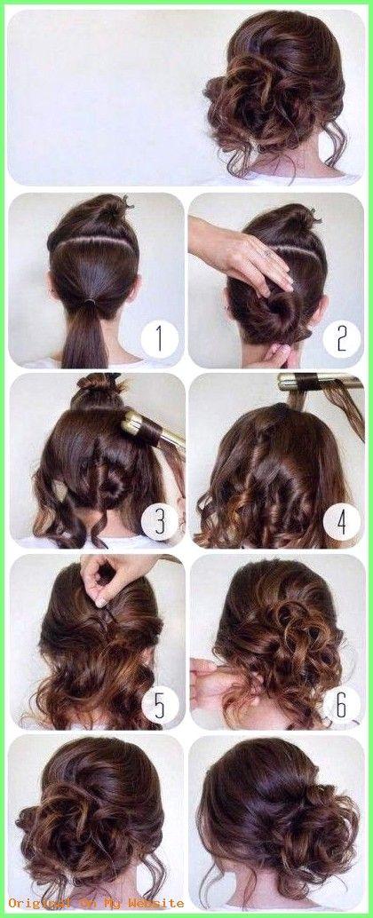 Frauen Frisuren 2019 Einfache Hochsteckfrisuren Fur Langes Haar