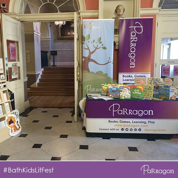 Here we are at #bathkidslitfest! Come and visit our stand in the Bath Guildhall every morning to learn more about our fabulous collection of books, craft kits, activity sets and more!