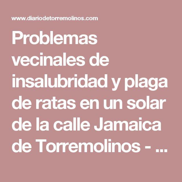 Problemas vecinales de insalubridad y plaga de ratas en un solar de la calle Jamaica de Torremolinos - Diario de  Torremolinos