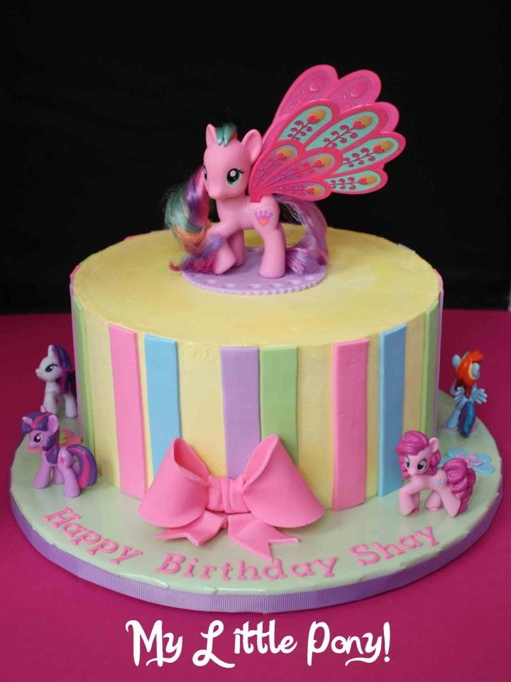 The Greedy Baker my little pony birthday cake My Little ...