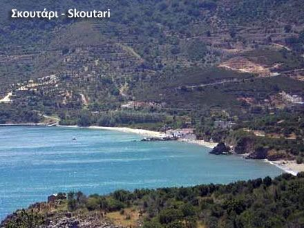 beach Skoutari Lakonias