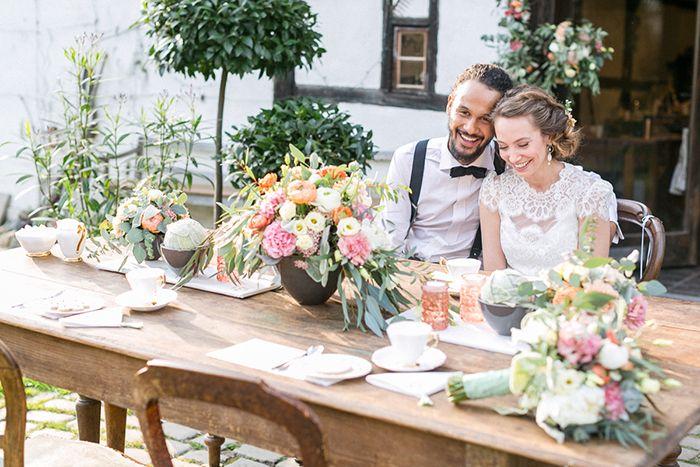 Fotoshooting Modern Folk Wedding by Nadine Villmann - Floristik www ...