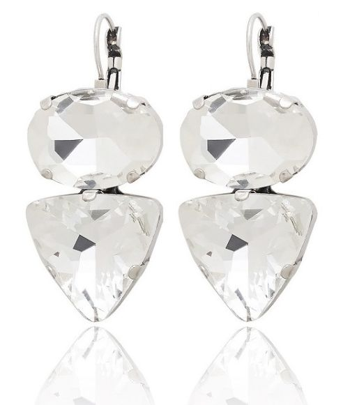 Amphora White Earrings available at www.stellanemiro.com