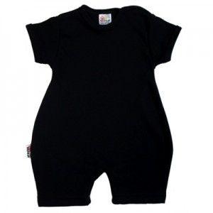 Barboteuse bébé noire http://simedio.fr
