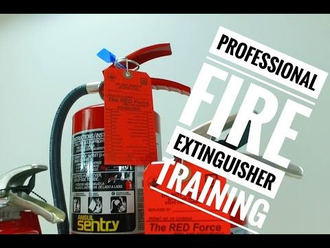 Professional Fire Extinguisher Training Topeka Kansas (816) 833-8822 Meet Your OSHA Fire Extinguisher Training Requirements with the Red Force Fire and Secur...