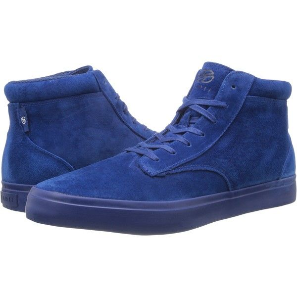 radii Footwear Basic (Navy Navy Suede) Men's Shoes (£38) ❤ liked on Polyvore featuring men's fashion, men's shoes, men's sneakers, blue, navy blue mens shoes, mens high top sneakers, mens high tops, mens woven shoes and mens high top shoes