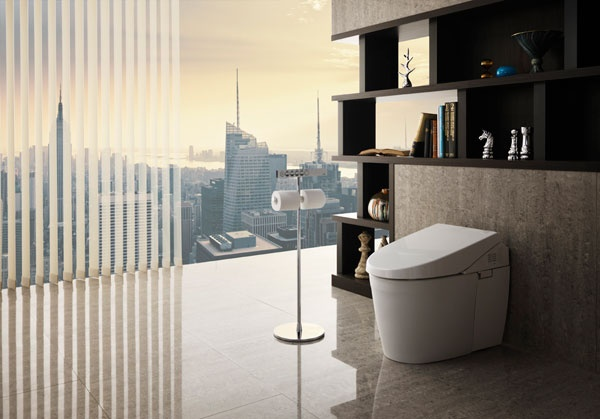 NEOREST 700H and NEOREST 550H by Toto offer Ultra High-Efficiency Dual-Flush Systems with eWater+ Technology