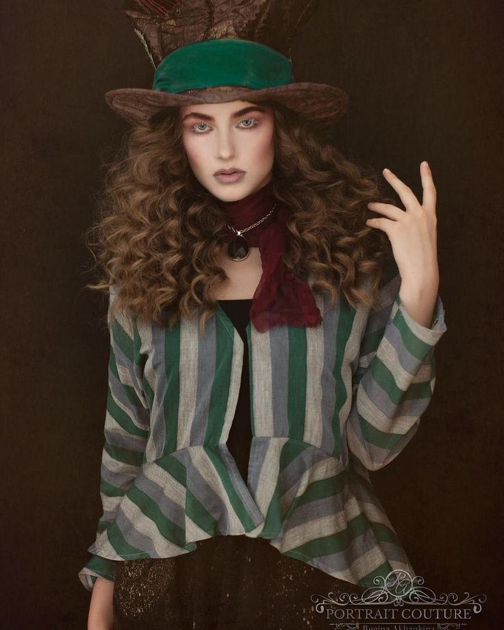 """We're all mad here!  If something is supposed to happen it will happen. We started this amazing project with Alexandra Loughton Makeup Artist where we work with crazy colours and creative portraiture. I don't remember exactly how fashion Mad Hatter ended up in my list but Ali was super excited about the idea.  We found our Mad Hatter evening before the shoot (thank you for your help Lindsay!). I went to our tailoring friends (check out The """"Russian Tailor"""" they are awesome!) and scavenged…"""