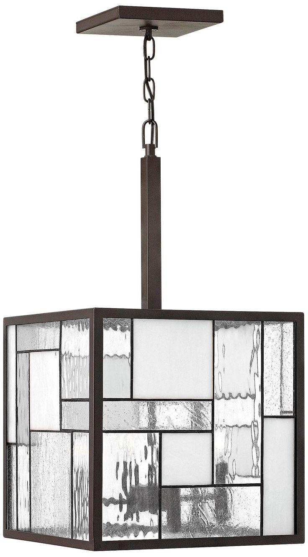 "Hinkley Mondrian 4-Light 14"" Wide Bronze Pendant Light"