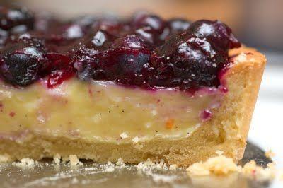 Exquisite Blueberry Tart - A Taste of Paris!Mouth Water, Orange Zest, Celeste, Blueberries Cream, Blueberries Tarts, 1 4 Cups, Exquisite Blueberries, Cream Tarts, Blueberries Recipe
