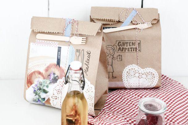 Fai da te sacchetti pranzo: La cosa migliore per il pic-nic estivo