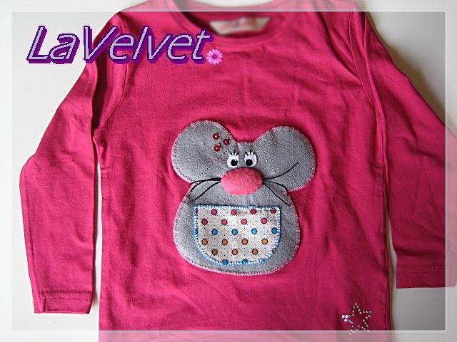 Camiseta Ratita Presumida