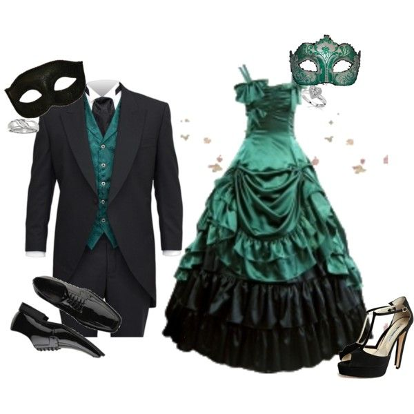 Masquerade couples | fashion look from February 2011 featuring Brian Atwood  sandals . - Best 25+ Masquerade Costumes Ideas On Pinterest Masquerade