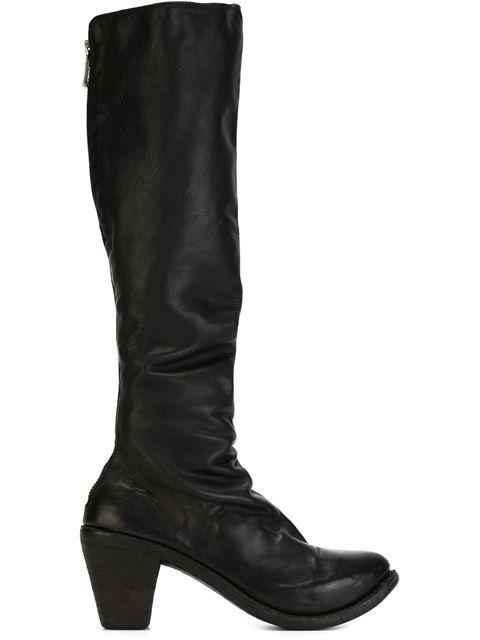 Guidi Cuban heel boots