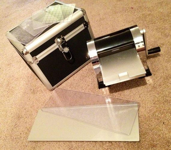 QuicKutz Revolution with case and 12 inch by SunshineDearest, $50.00