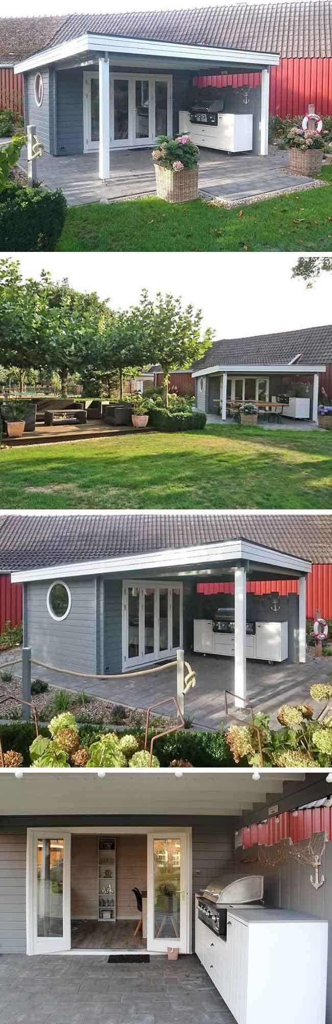 """Gartenhaus Einrichtung: Urlaub zuhause: Gartenhaus Holstein wird """"Sylt-Hütte"""" – GartenHaus GmbH"""