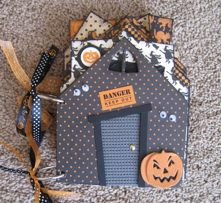 Chipboard Shapes Ideas ~ Best images about halloween mini albums on pinterest