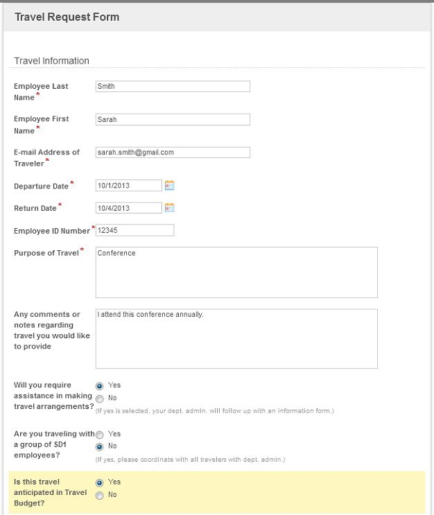 5 Things I Wish Iu0027d Known About Organizing My Repository - travel request form