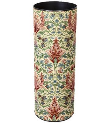 William Morris Umbrella Stand Tapestry Snakeshead These William Morris umbrella stands are made from sturdy solid metal wrapped in beautiful William Morris designed tapestry fabric. These stylish umbrella stands have a rubber base insert and scotchguarded for protection. Sure to compliment any hallway.