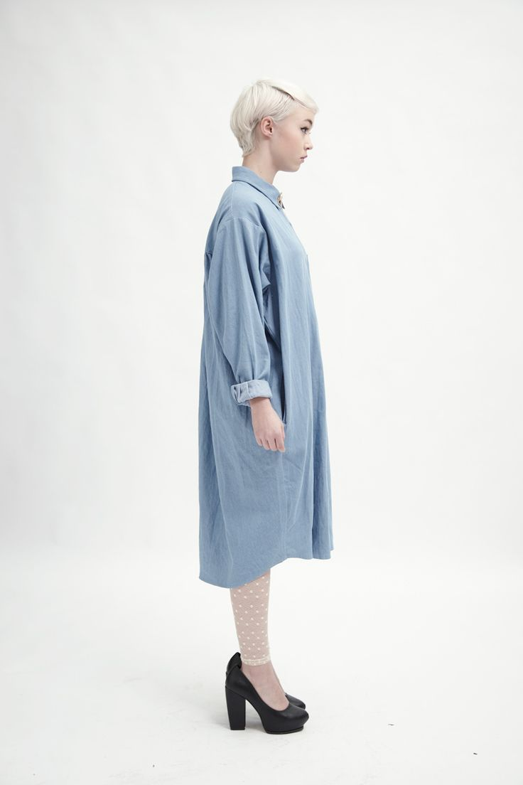 Oversized Shirt Dress Denim http://www.thewhitepepper.com/collections/dresses/products/oversized-shirt-dress-denim