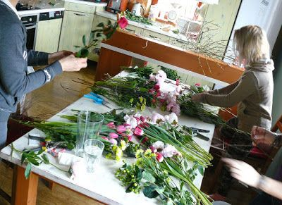 Lili El ...  Lucie Zemkové: Velikonoční květinová dílna...