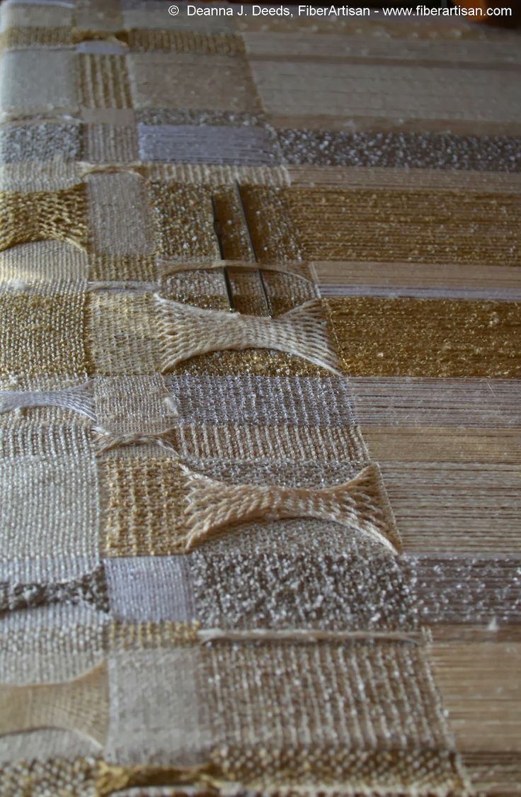 A FiberArtisan's Weaving Path: Eccentricity