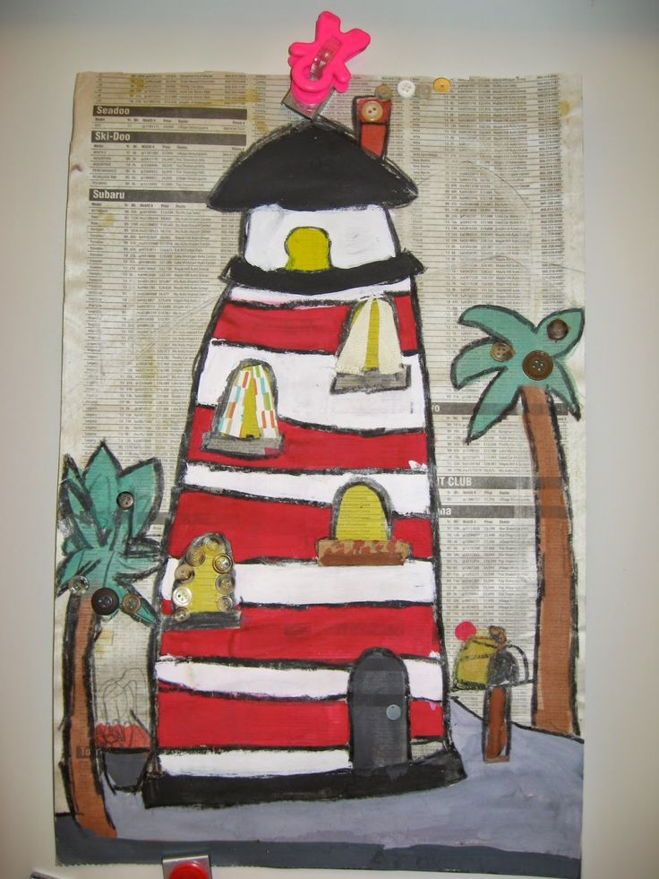 Jamestown Elementary Art Blog: 3rd Grade Architecture Collage