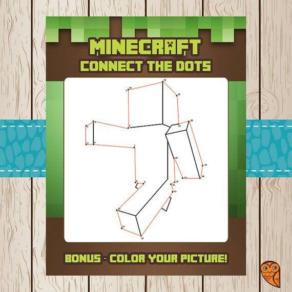424393964859290385 on Minecraft Birthday Party Activities
