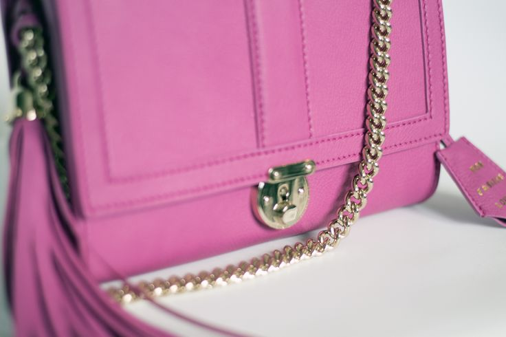 FIFTH MAY Chiara bag fuchsia