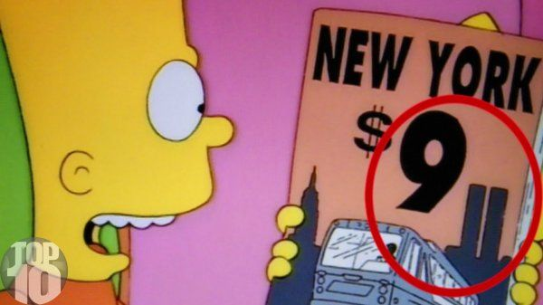 9/11 Uncanny Simpsons Predictions