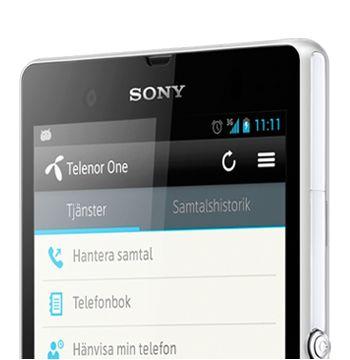 Telenor One 2,0 - appen  En fantastisk app som låter användaren att hantera företagets PBX tjänster katalog på sin mobil.